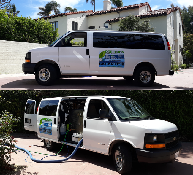 Precision Carpet Cleaning San Diego