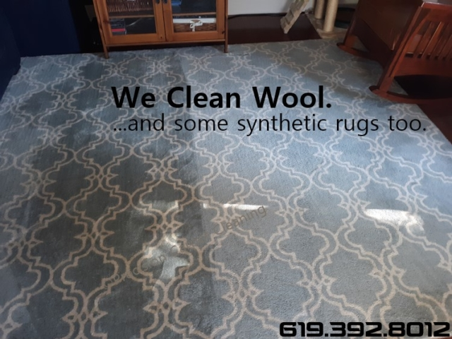 Wool Area Rug Cleaning San Digo