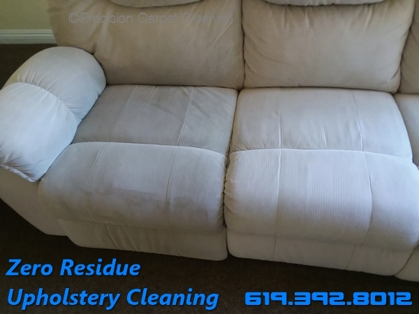 Zero Residue Upholstery Cleaning San Diego
