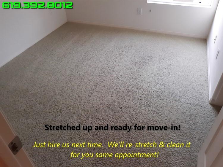 Carpet Repair Stretching San Diego