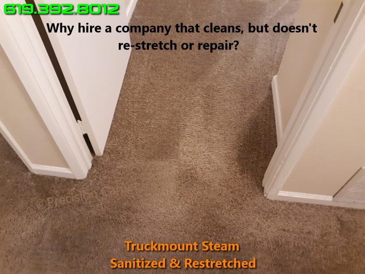 Carpet Restretching Repair San Diego
