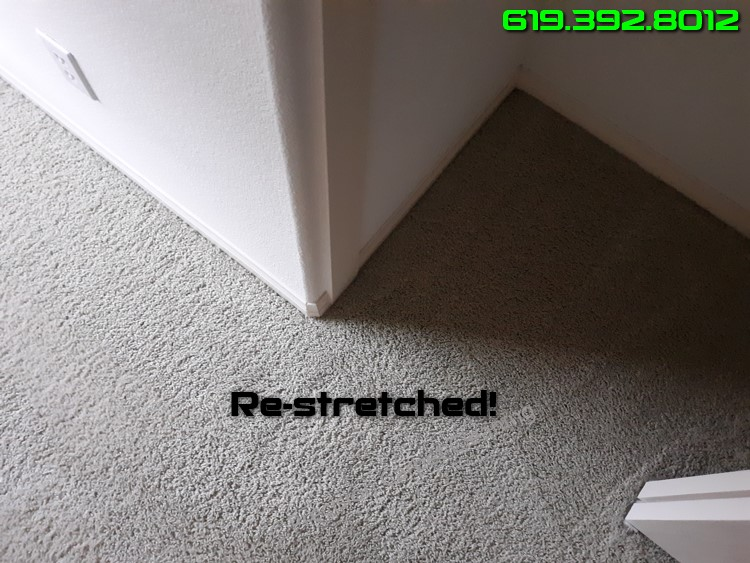 Repair Restretch Loose Carpet San Diego Ca