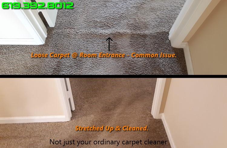 Stretch Repair Carpet San Diego