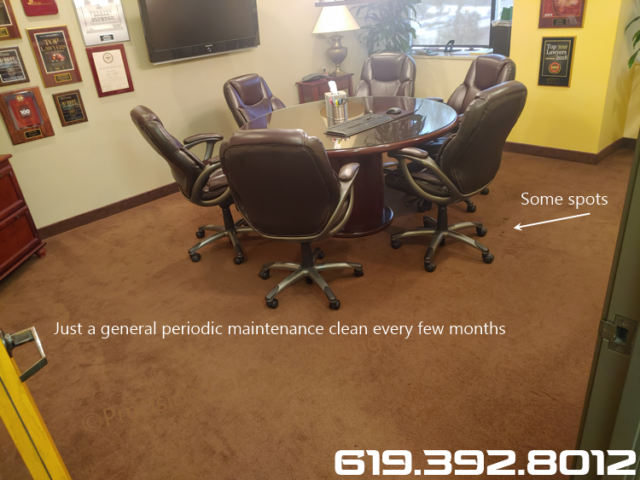 Office Carpet Cleaning In Mission Valley Commercial