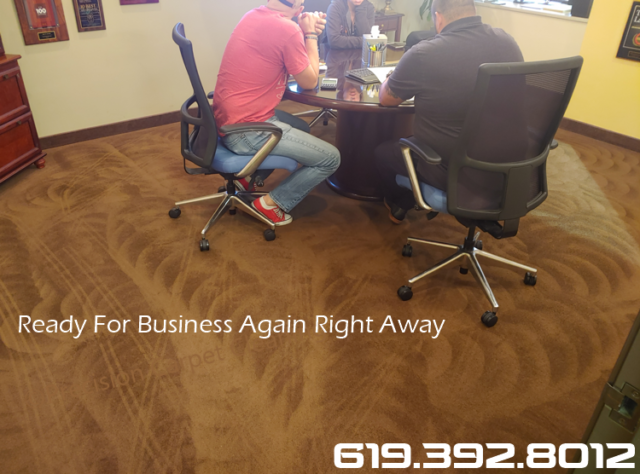 Office Carpet Cleaning Mission Valley Commercial